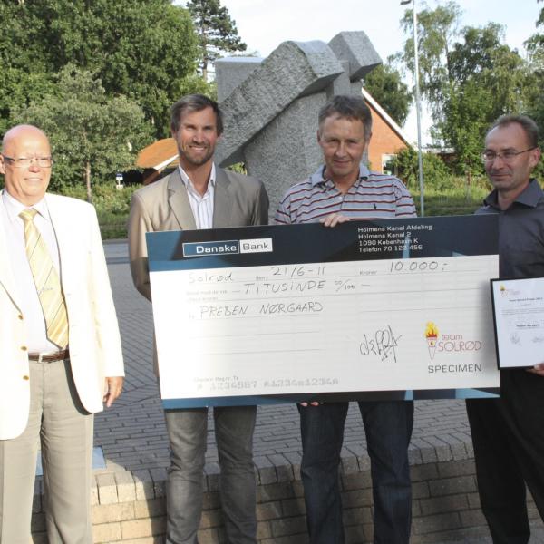 Team Solrød prisen 2011 - Preben Nørgaard