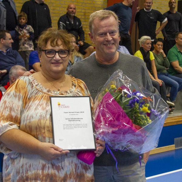 team_solrød_prisen_2019_jersie_håndboldklubs_støtteforening